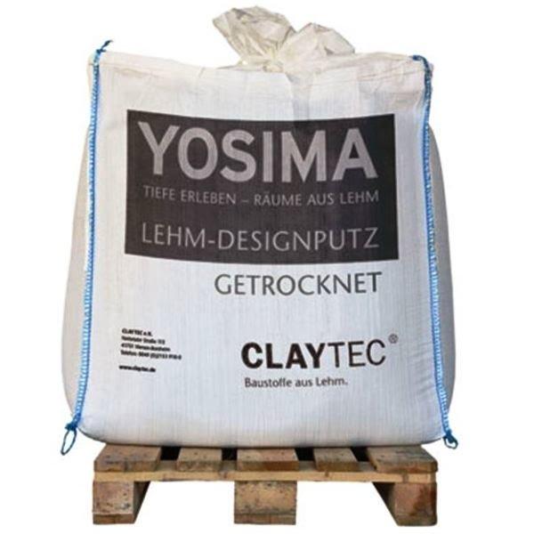 Claytec Yosima Designstuc Leemfinish bigbag 500 kilo