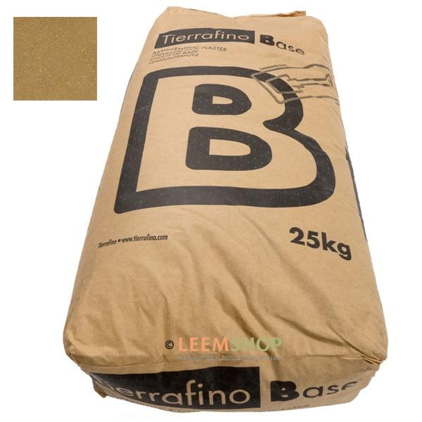 Tierrafino Base Droge BRUIN basis leemstuc met stro 25 kilo