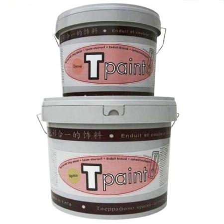 Tierrafino T-Paint Leemverf Kleuren Structuur emmers 5 en 10 liter