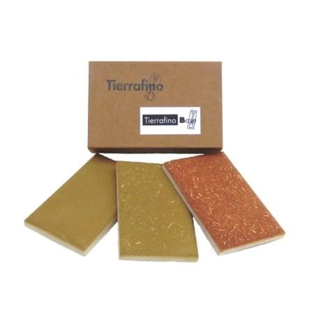 Tierrafino Base Basisleem kleurstalen bruin rood stro