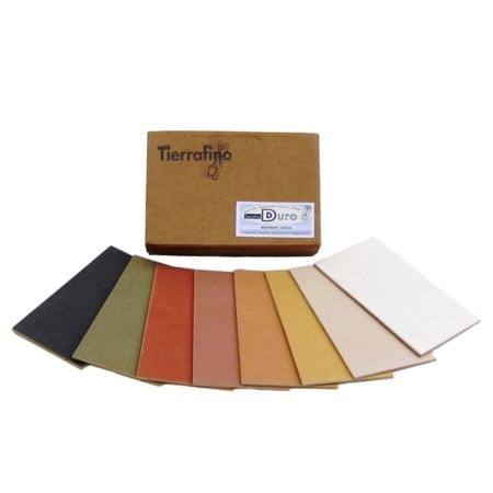 Tierrafino Duro Leemfinish kleurstalen