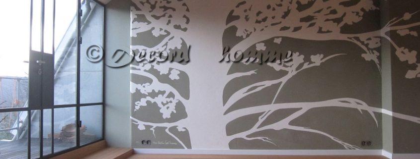 Leemverf schilderen boom Leemshop