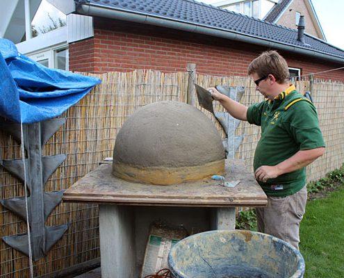 Pizzaoven in de tuin: aan de slag met de zandbol