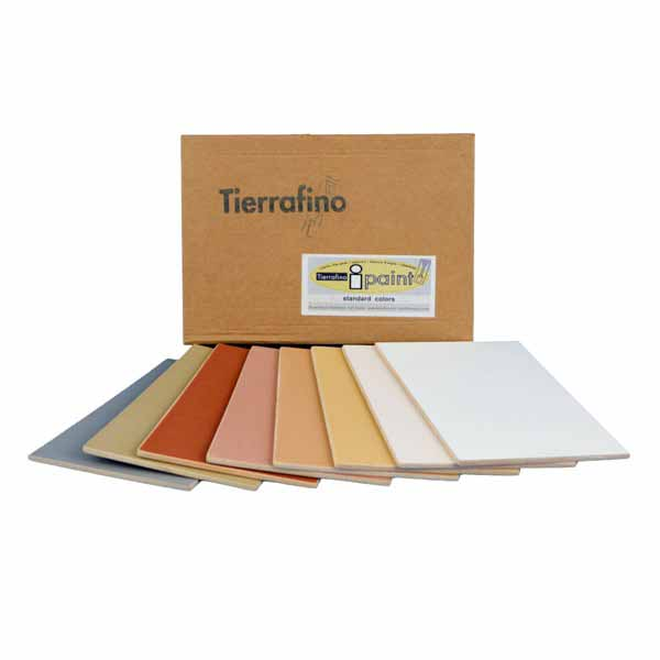 Tierrafino I-Paint Leemverf Kleurstalen