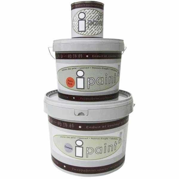 Tierrafino I-Paint Leemverf kleuren verpakkingen 0,75l 5 liter en 10 liter